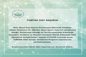 TUBİTAK 3501 BAŞARISI